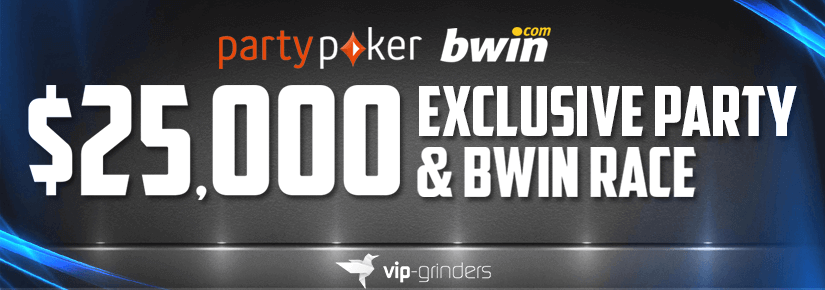 $25,000 PARTY AND BWIN RACE OKTOBER